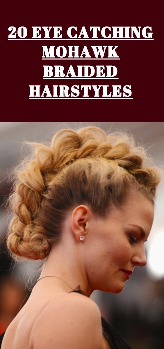 Best Mohawk Braided Hairstyles