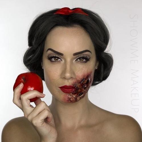 Disney Halloween Makeup
