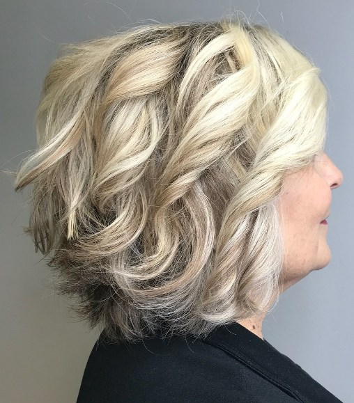 Hairstyles for Overweight Women Over 50