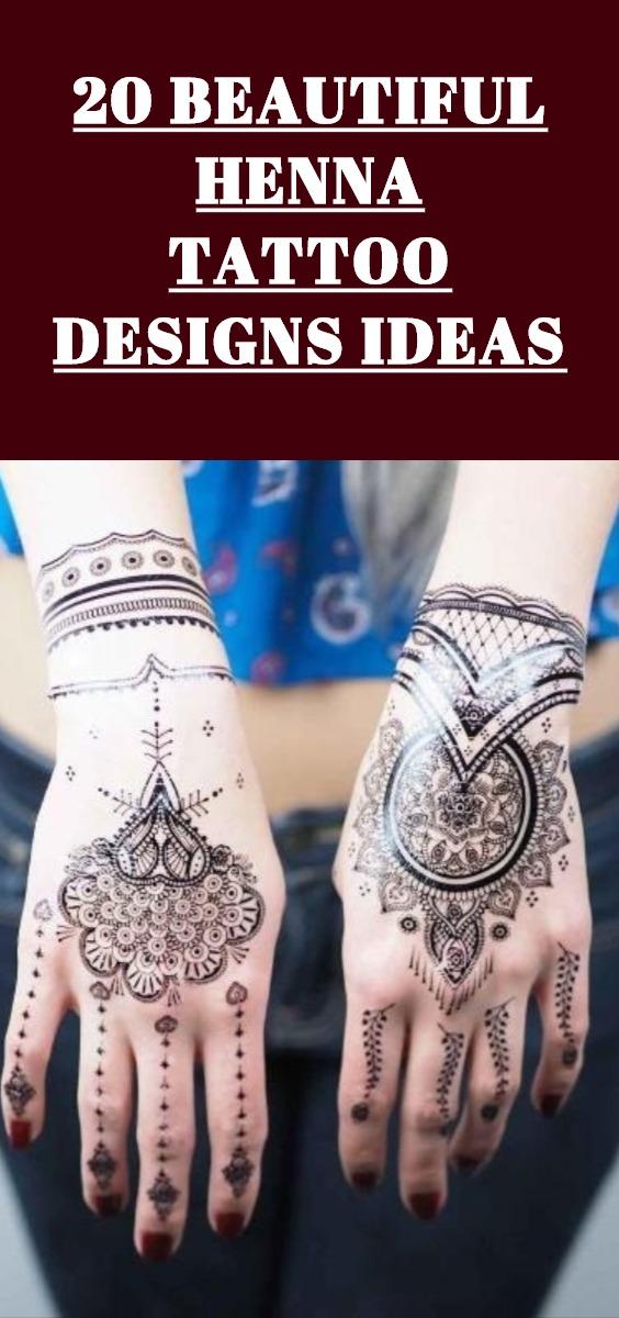 Henna Tattoo Designs Ideas