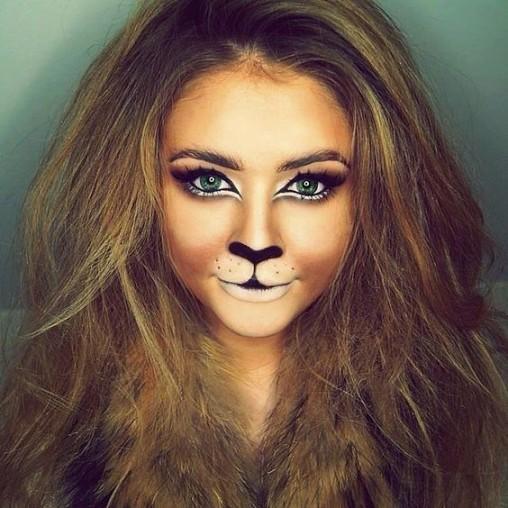 Animal Halloween Makeup