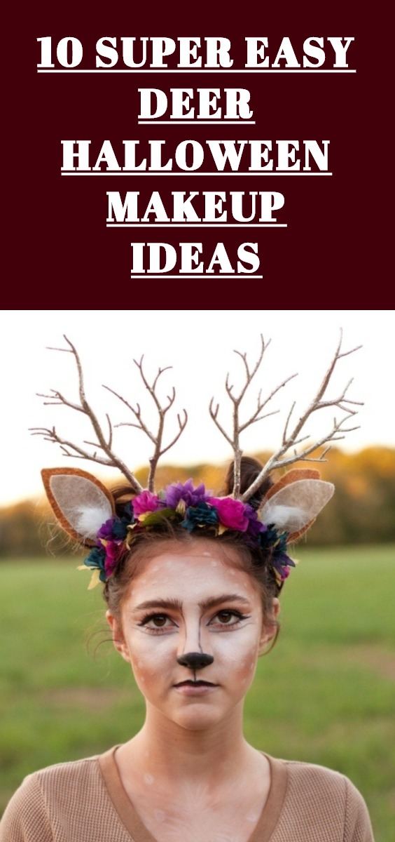 Deer Halloween Makeup Ideas