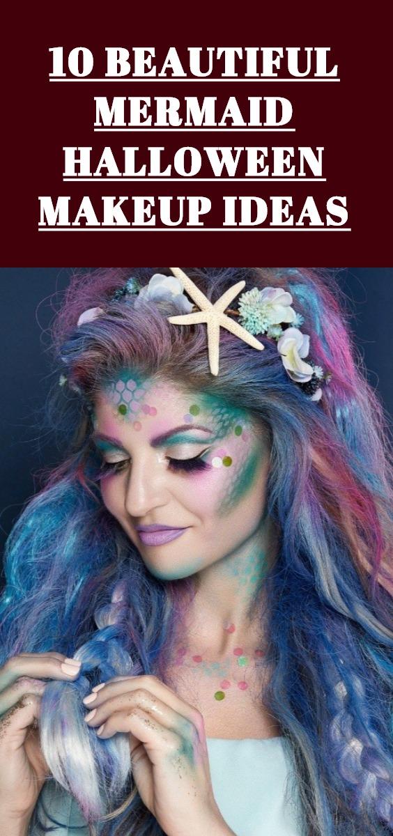 Mermaid Halloween Makeup Ideas