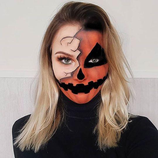 Unique Halloween Makeup