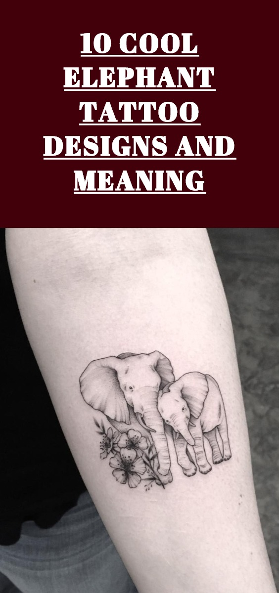 Elephant Tattoo Design Ideas