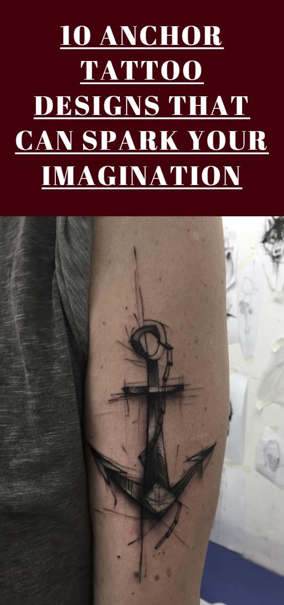 Anchor Tattoo Design Ideas