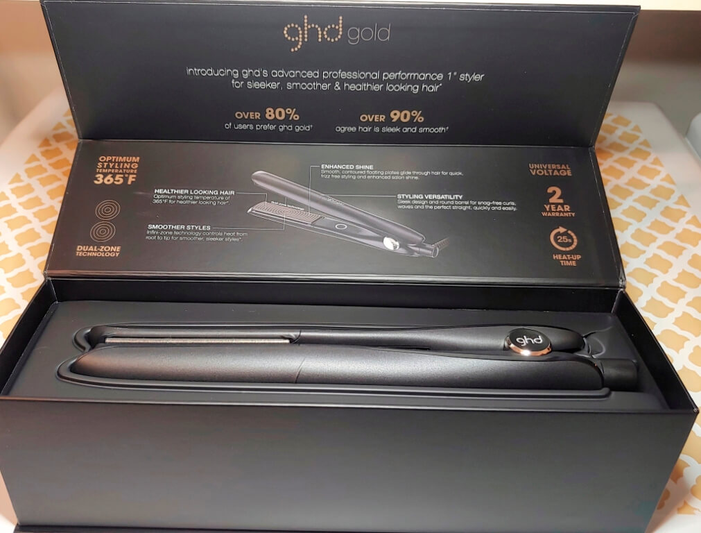 GHD Gold Professional Styling Iron Review