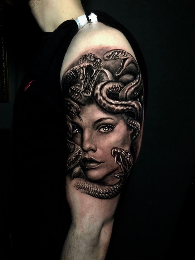 Medusa Tattoo Designs