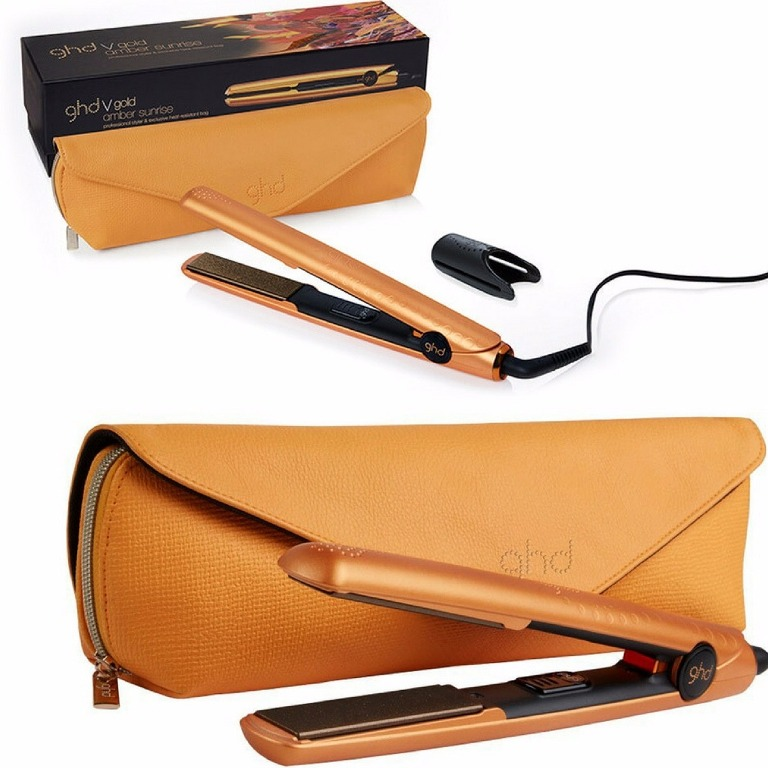 GHD Amber Sunrise 1 Gold Styler Flat Iron Review