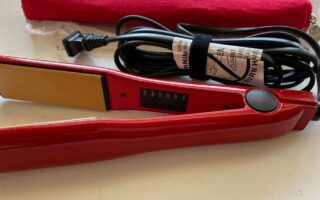 CHI Red Titanium Temperature Control Hairstyling Iron Review