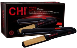 Chi G2 Ceramic & Titanium 1.25 Hairstyling Iron Review