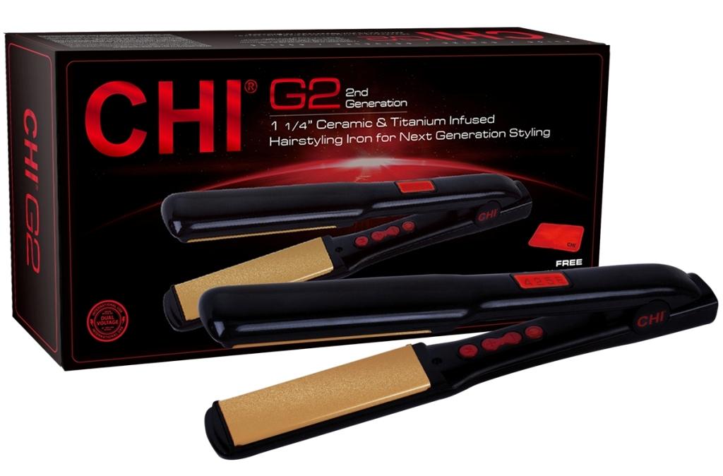 Chi G2 Ceramic & Titanium 1.25 Hairstyling Iron Review
