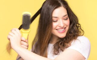 Drybar Brush Crush Heated Straightening Brush Review