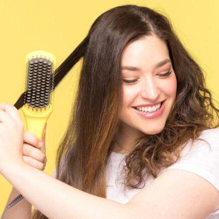 Drybar Brush Crush Heated Straightening Brush Review