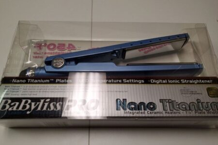 BaBylissPRO Nano Titanium Digital Straightening Iron Review