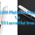 GHD Platinum Plus Vs T3 Lucea Flat Iron