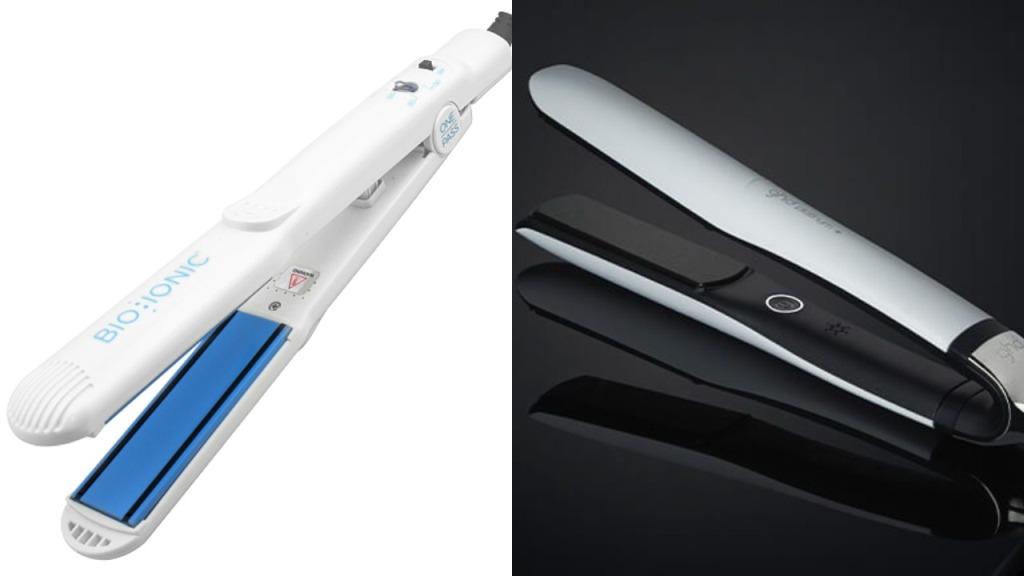 GHD Platinum Plus vs Bio Ionic 10x Flat Iron