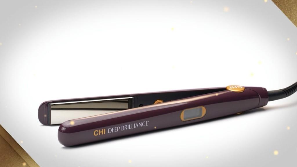 Chi Deep Brilliance Black Titanium Hairstyling Iron