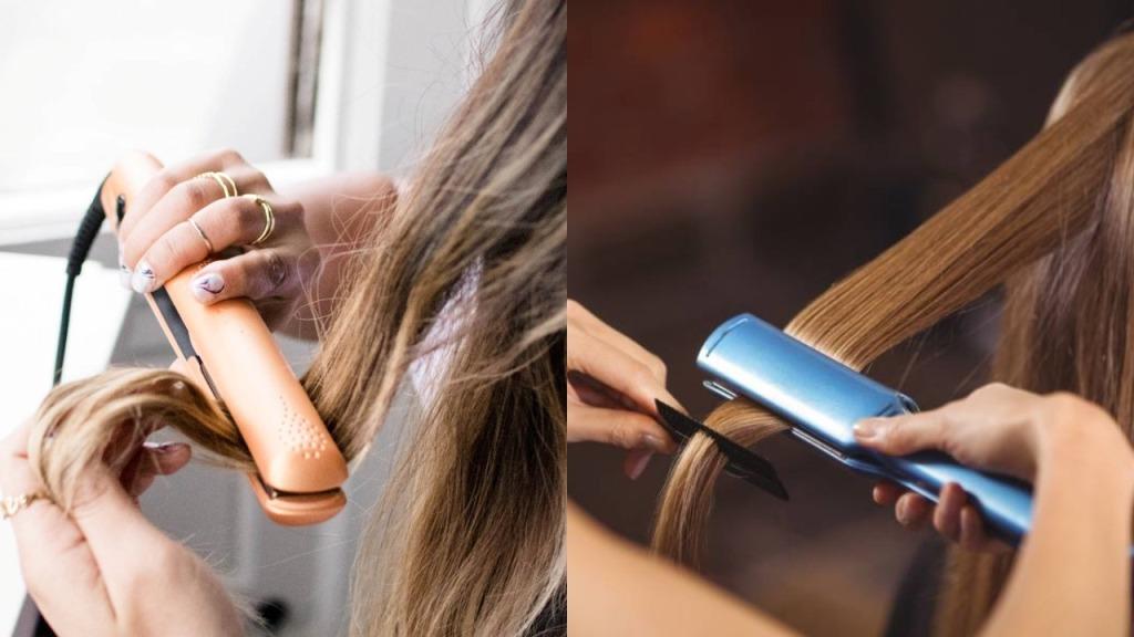 GHD Amber vs BABYLISSPRO Nano Flat Iron