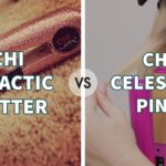 CHI Galactic Glitter vs CHI Celestial Pink Flat Iron
