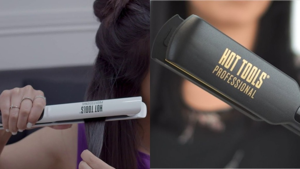 HOT TOOLS Nano Ceramic vs Digital Salon Flat Iron