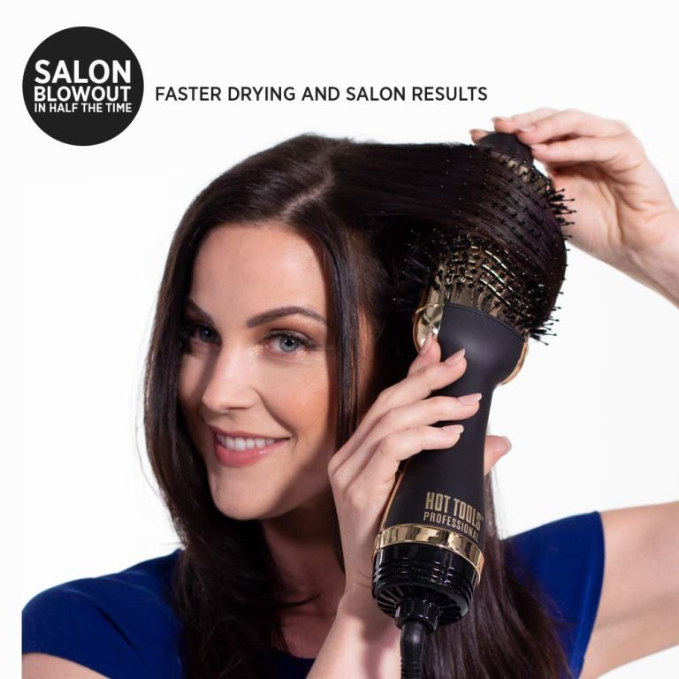 Hot Tools Black Gold Charcoal Infused One Step Blowout Review