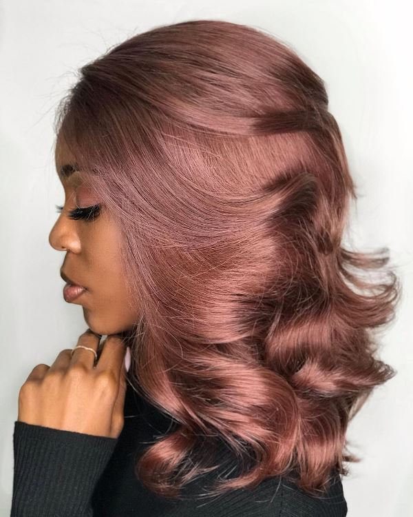 Hair Color Ideas for Brown Skin