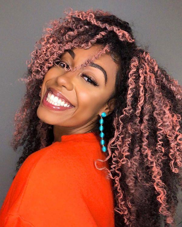 Hair Color Ideas for Dark Skin African American