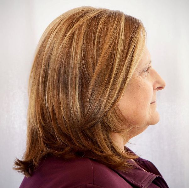 Hairstyles For Women Over 50 With Round Faces